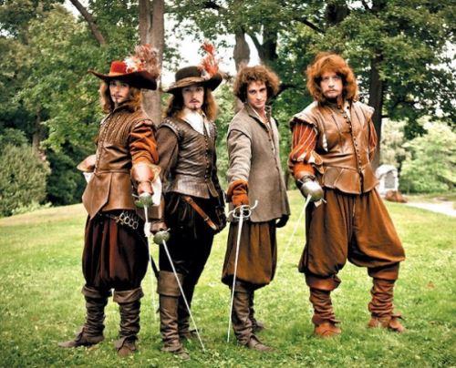Премьера нового приключенческого комедийного экшена-Три мушкетера 2013. Официальный трейлер .