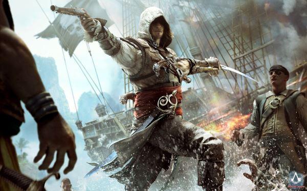 Видео, демонстрирующее разницу между PS 3 и PS 4 в Assassin's Creed 4: Black Flag.