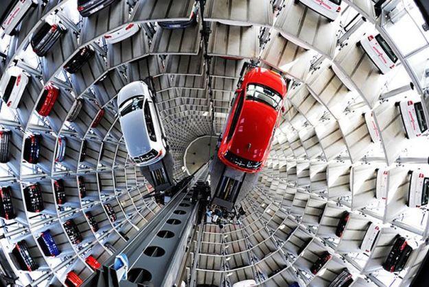 Автомобильные небоскребы Германии