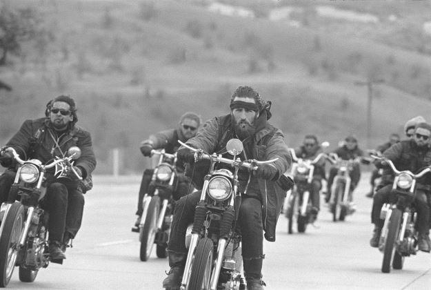 Ангелы Ада: история и раритетные фотографии самой крутой банды байкеров США.