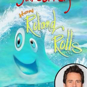 Джим Керри написал свою первую детскую книгу, про волну по имени Роланд.