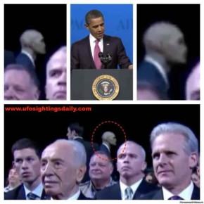 Телохранитель Обамы-инопланетянин?