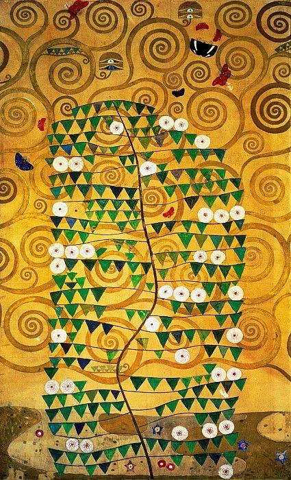 Модерн в картинах, от известного австрийского художника Густава Климта