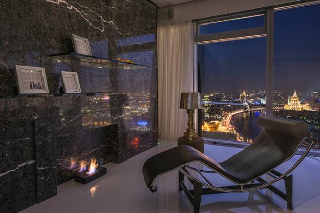 Элитные аппартаменты в Москва-сити от архитектора Егора Серова
