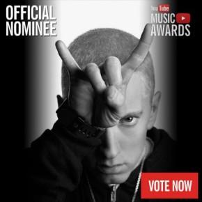 Эминем получил главную награду первой музыкальной премии YouTube