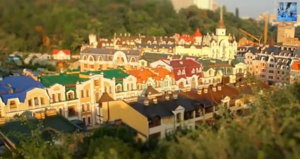 Игрушечный Киев . Видео Timelapse от Efim Graboy и Daria Turetski