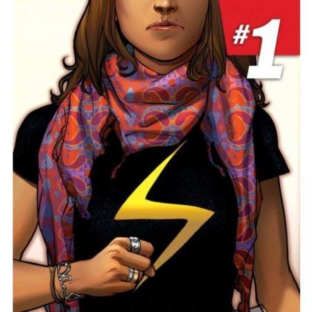 Marvel Comics представляет новую супергероиню- мусульманскую девушку-оборотня по имени Камала Хан.