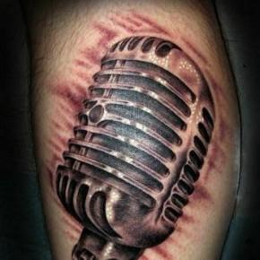 Татуировка со встроенным микрофоном от компании Motorola