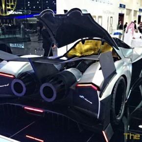 Арабский суперкар Devel Sixteen с двигателем мощностью 5000 л.с.