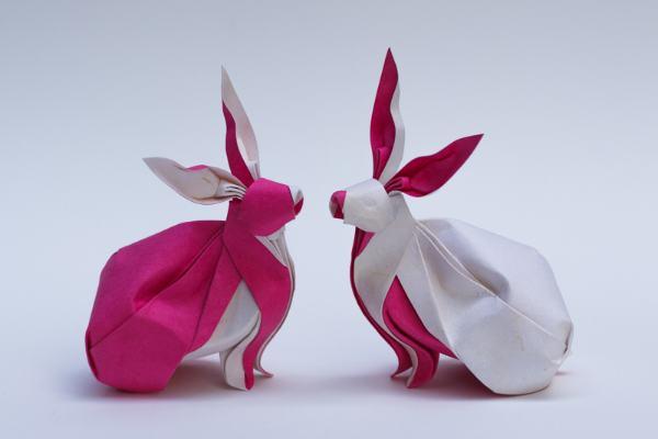 Красивейшие оригами на разные темы от NGUYỄN Hùng Cường.