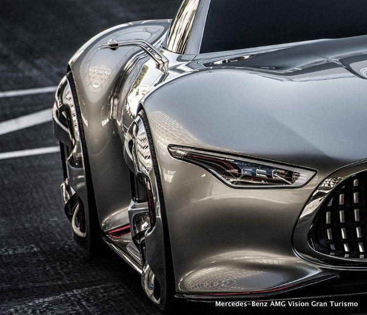 Самый красивый Mercedes никогда не выйдет на дороги