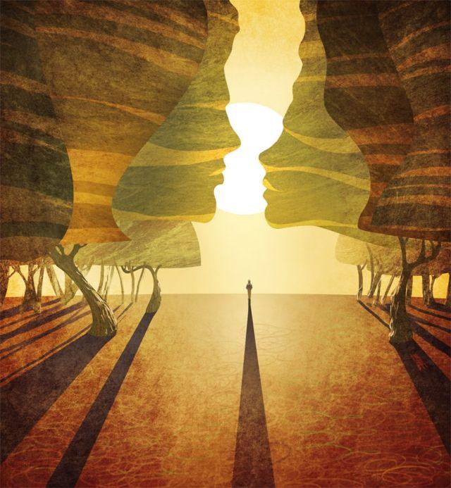 Традиционная живопись в цифровом формате от Артема Чебохи