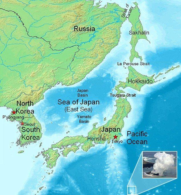 У берегов Японии появился новый остров
