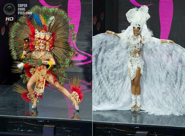 Фото красавиц-участниц с конкурса красоты «Мисс Вселенная 2013″.