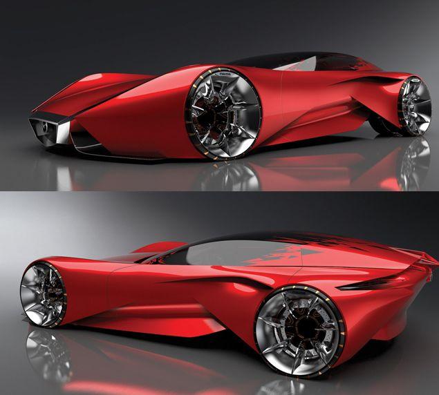 Футуристические проекты автомобилей от известных компаний.
