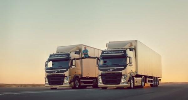 Жан Клод Ван Дамм еще тот. Жан Клод и Volvo.