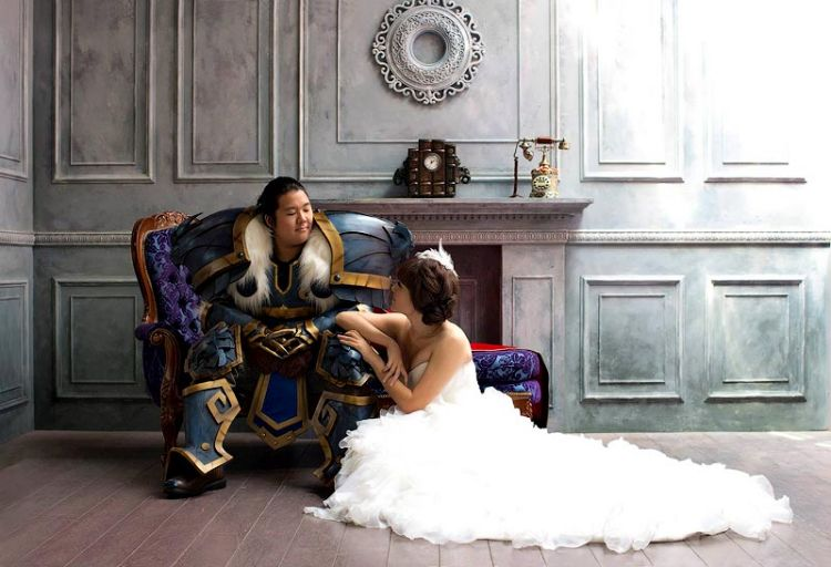 Свадьба в стиле World of Warcraft