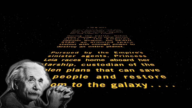 Как Альберт Эйнштейн стал лицом космической саги Star Wars.