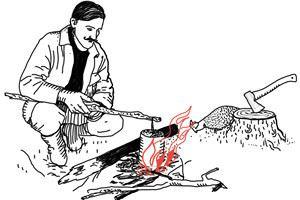 КАК ВЫЖИТЬ В ЛЕСУ: техника приготовления еды в условиях дикой природы