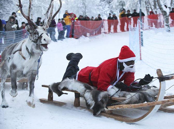 Как выглядит Дед Мороз в разных странах.