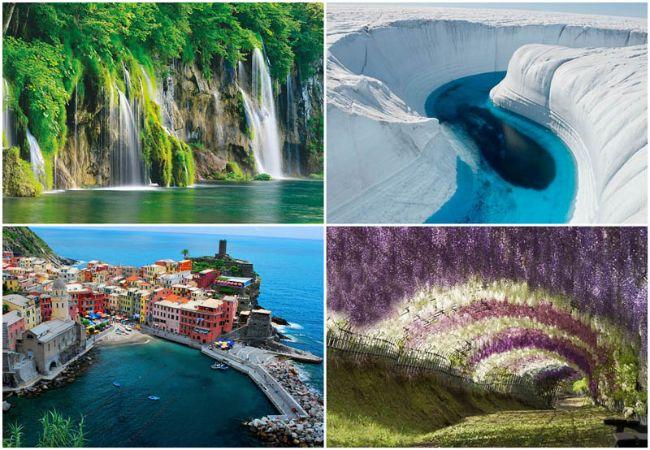 10 мест неземной красоты, которые действительно существуют на Земле