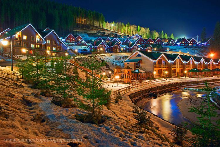 Где отдохнуть зимой в Украине. Обзор самых популярных зимних курортов Украины.
