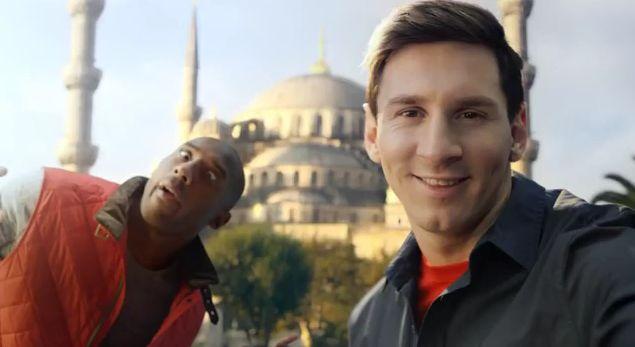 Коби и Месси. Забавная реклама Турецких Авиалиний — «Turkish Airlines»