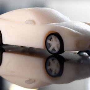 Автомобиль Porsche можно скачать и напечатать на 3D-принтере