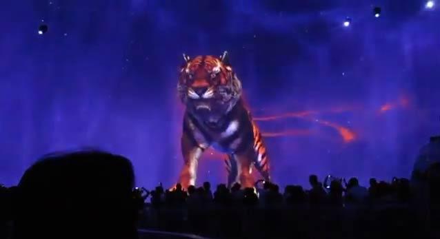 Красивейшее шоу-7D видео