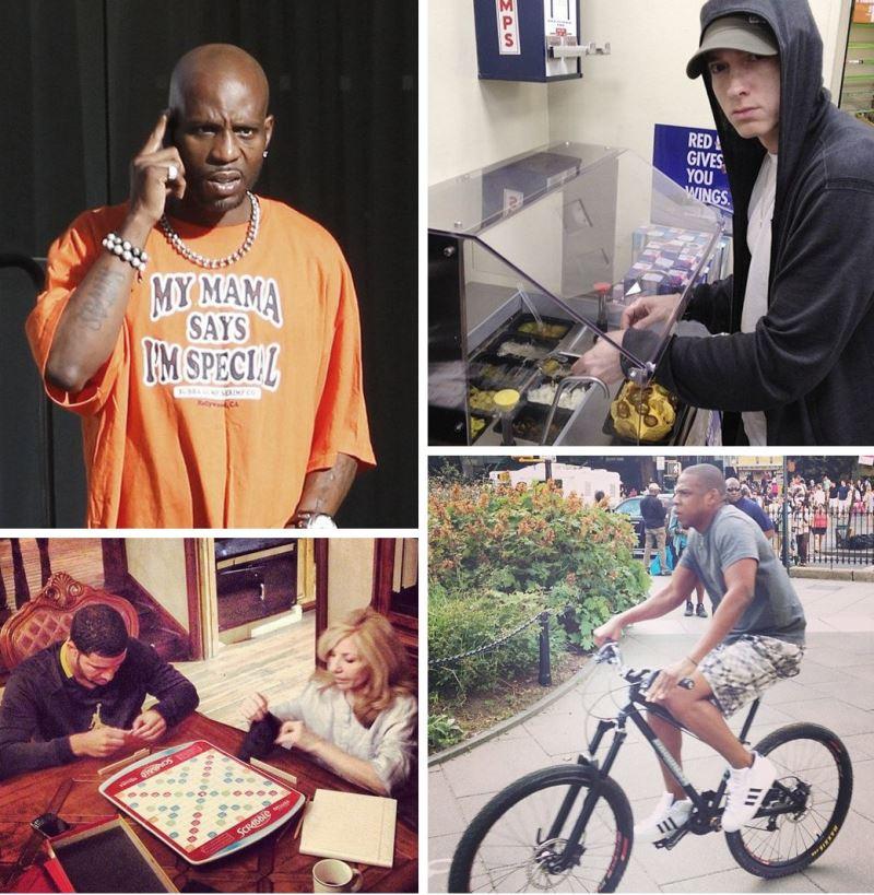 Настоящая жизнь американских рэперов в фотографиях.