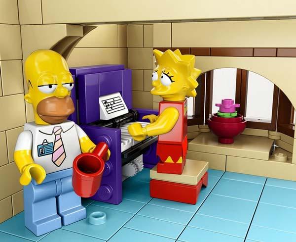 Лего Симпсоны.