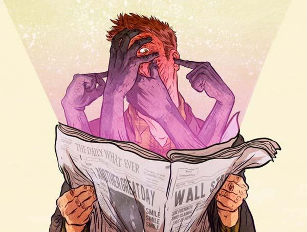 Незабываемые жестокие иллюстрации Рафаэля Альвареса.