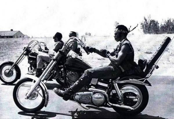Афро-американские байкеры