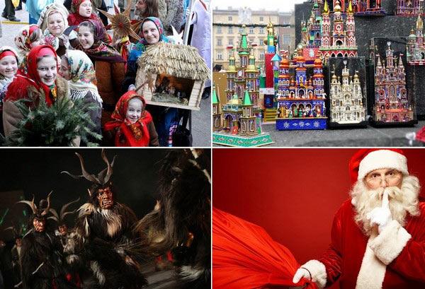 Рождественские традиции со всего мира