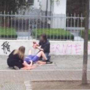 Необычные случаи на улицах во время работы Google Street View