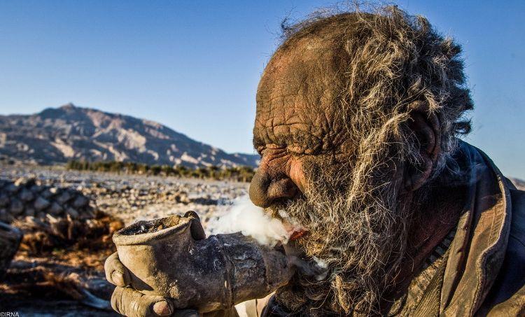 Иранец, который не мылся 60 лет. (Фото)