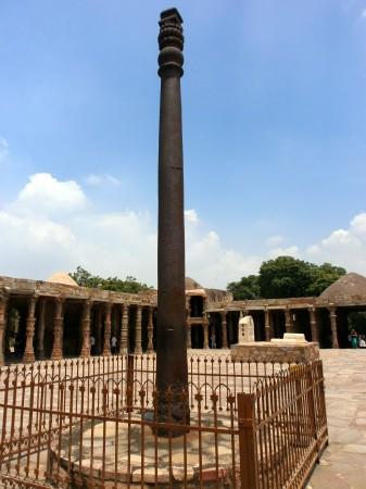 Вся правда о железной колонне в Дели (Индия)