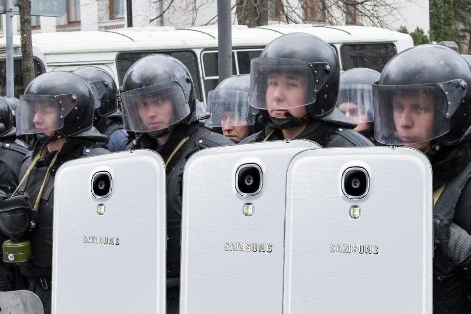 Юмор и приколы про Евромайдан.