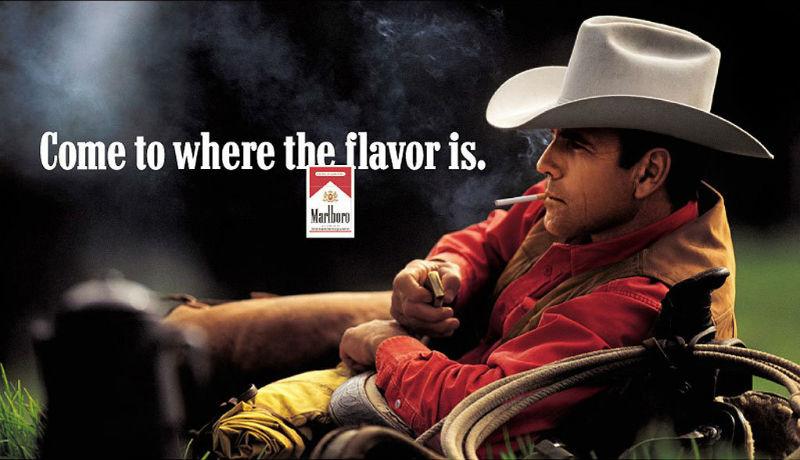 В США умер от болезни легких актер Эрик Лоусон — лицо сигарет Marlboro.