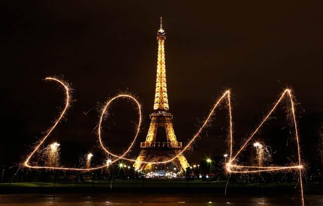 Как встречали Новый год 2014 по всему миру