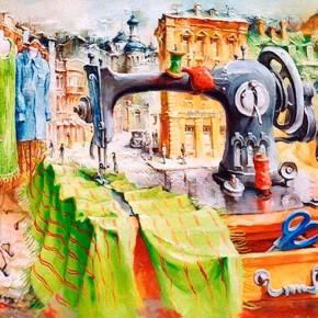 Сюрреализм от украинского художника Владимира Тарасенко.