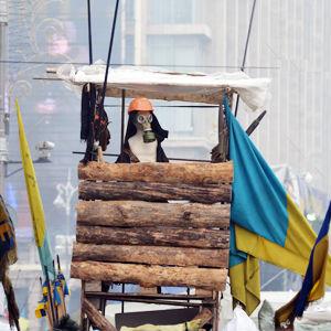 Евромайдан 2014: От мирной демонстрации к вооруженному конфликту.