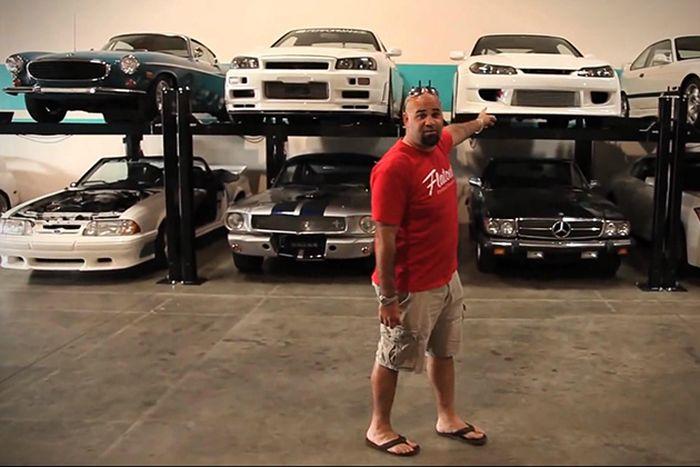 Коллекция автомобилей актера Пола Уокера. (Фото + видео)