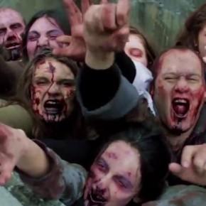 Настоящие зомби в городе