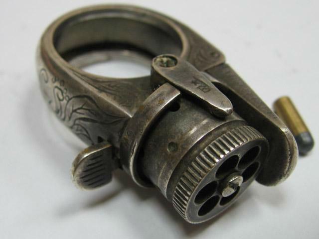 Кольцо-револьвер — настоящее мужское кольцо