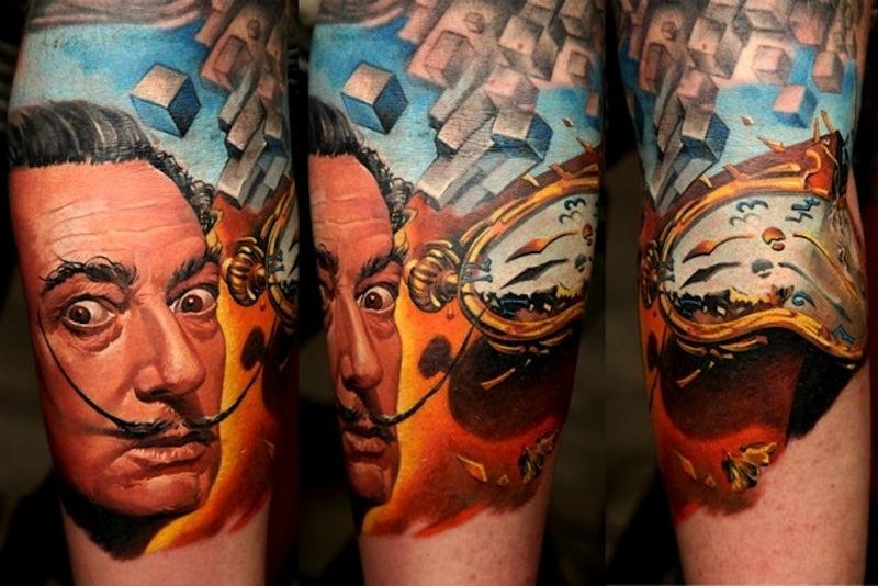 Дмитрий Самохин один из лучших украинских татуировщиков в мире.