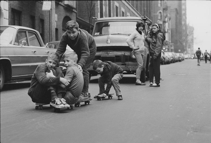 22 винтажных фотографий скейтбордистов Нью-Йорка 1960 годов.