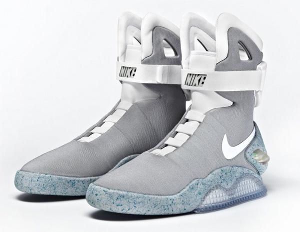 Футуристические кроссовки Nike Air Mag из фильма «Назад в Будущее 2» появятся в 2015 году.