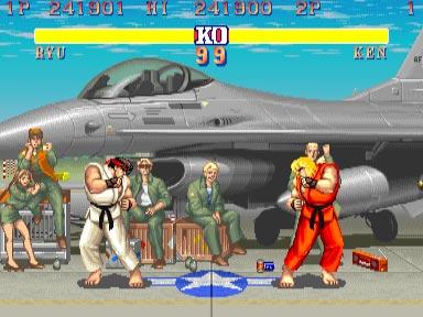 Пародия игры Street Fighter 2 на бои Майка Тайсона.