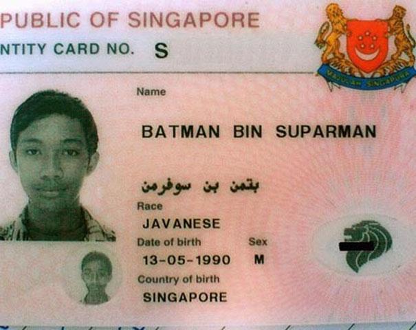 Самые смешные имена людей разных национальностей.